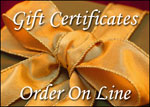 Order Gift Certificates On Line