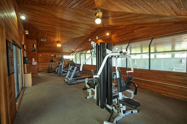 Village by the Sea also offers a fitness center.