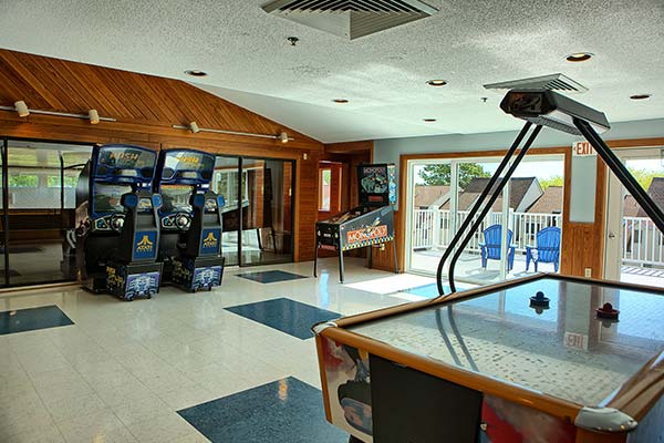 Our game room is a favorite among both young and old.