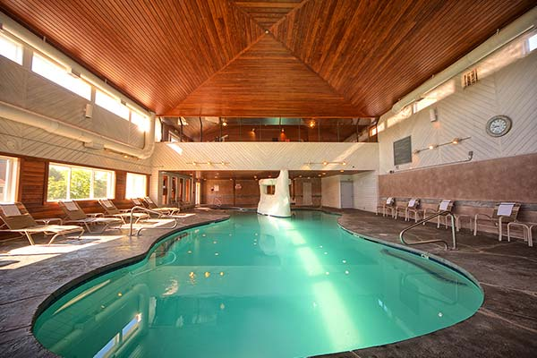 Village by the Sea offers a luxurious indoor heated pool.