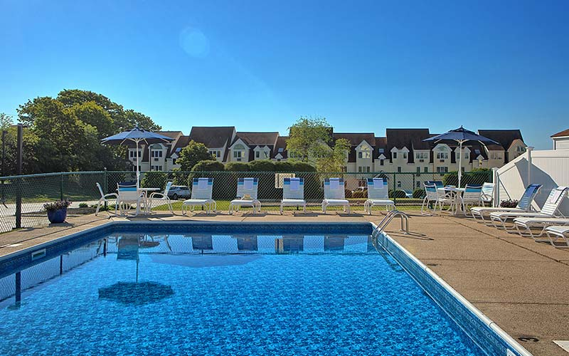 We also have an outdoor pool at Village by the Sea.
