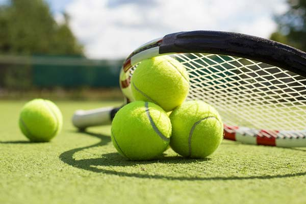 Off-site tennis courts are provided to Village by the Sea guests.